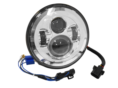 """Picture of LED 7""""HEADLIGHT FOR CUSTOM USE"""