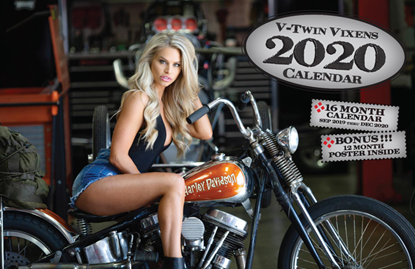 Picture of 16 MONTH V-TWIN VIXENS CALENDAR