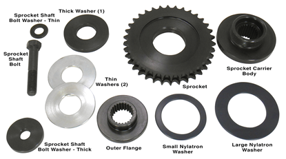 Picture of CHAIN DRIVE COMPENSATOR SPROCKETS FOR BIG TWIN
