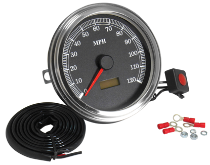 Picture of V-FACTOR ADJUSTABLE CALIBRATION SPEEDOMETERS FOR FAT BOB DASH